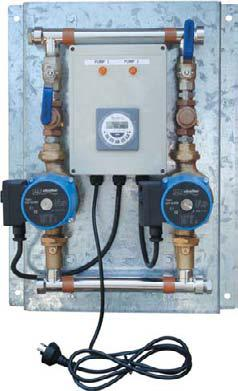 TWIN HOT WATER CIRCULATOR SYSTEM